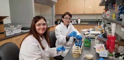 Summer Undergraduate Research Experience | Luke Laschober and Hanah Mastandrea