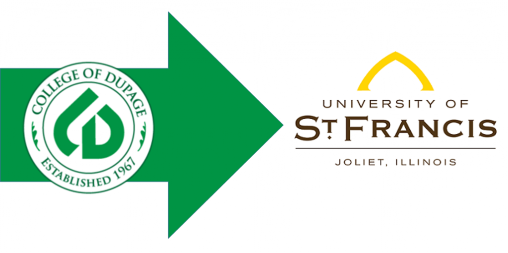 college of dupage transfer degree st. francis