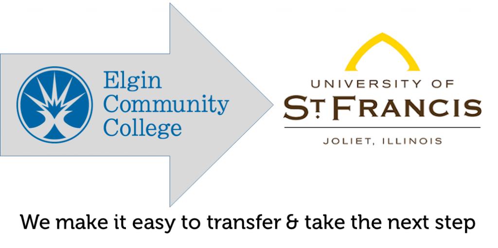 Transfer from Elgin Community to University St Francis