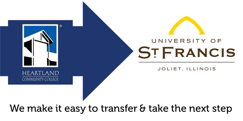transfer from heartland college to university st francis