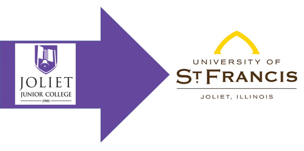 Joliet Junior College transfer to St Francis