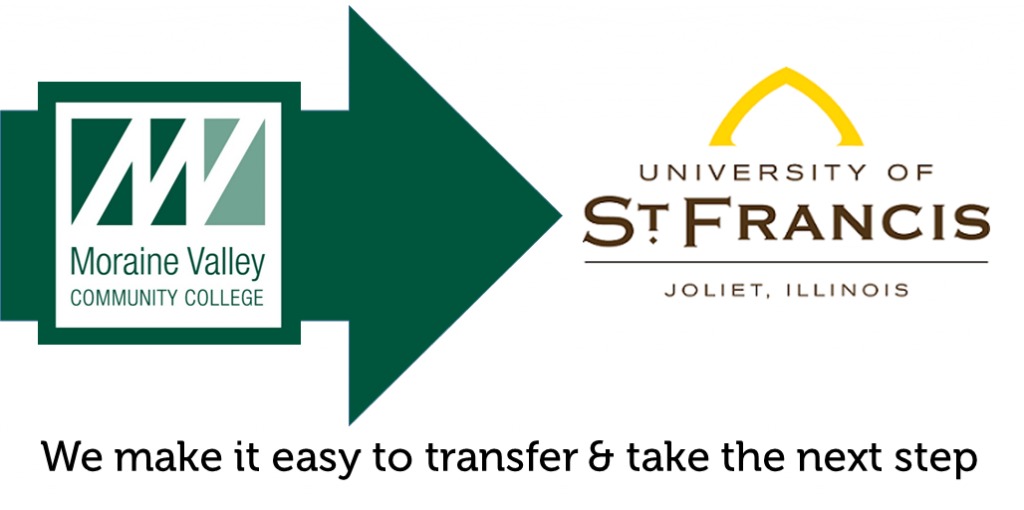 Transfer from Moraine Valley to University St Francis