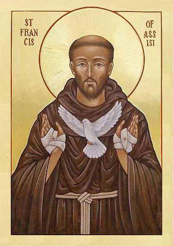 Saint Francis icon