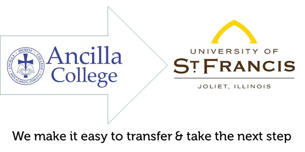 transfer from ancilla to university st. francis