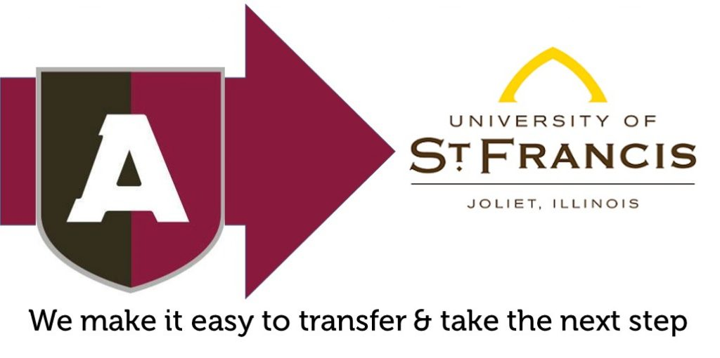 arupe students can transfer to the university of st francis