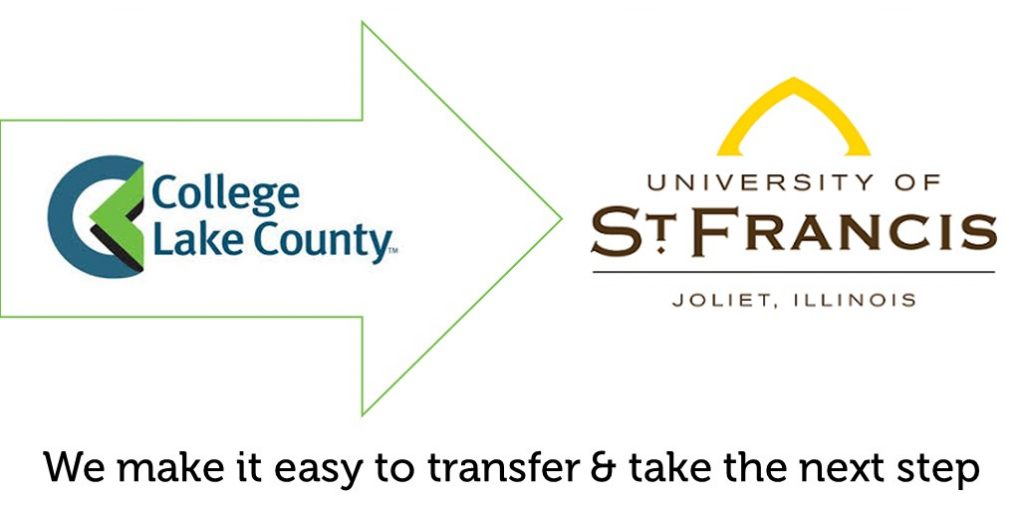 college of dupage to university st francis