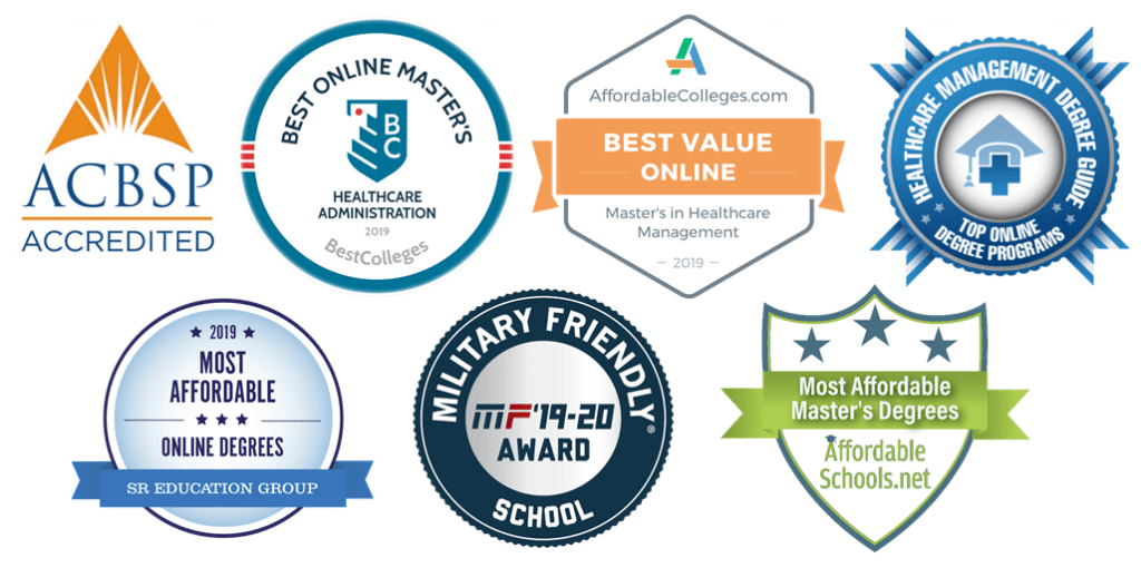 University St. Francis award winning healthcare management