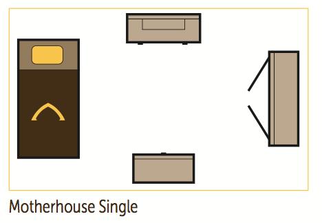 motherhouse dorm layout
