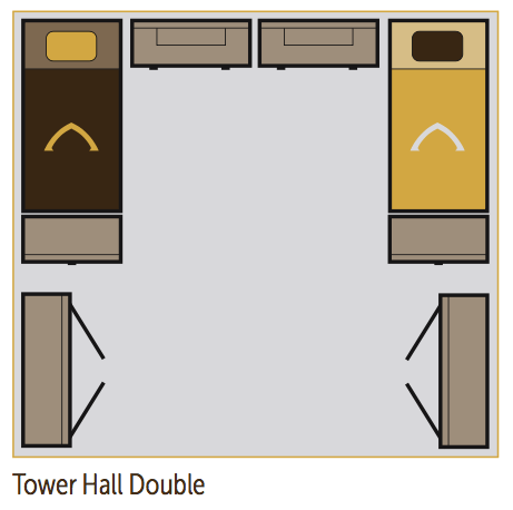 tower hall dorm layout