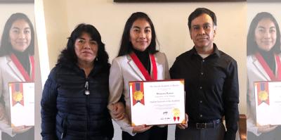 2019 Student Laureate Morayma Barron