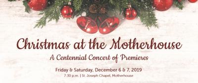 Christmas at the Motherhouse logo