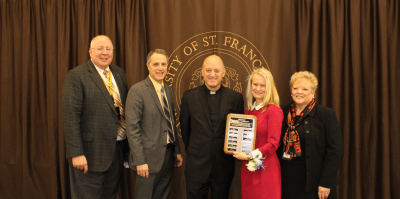 College of Education's Breakfast with the Bishop