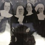 group of smiling nuns