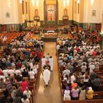 USF convocation in chapel