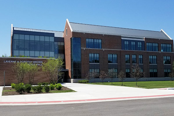 LaVerne and Dorothy Brown Science Hall