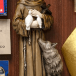 statue of St. Francis
