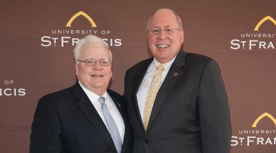 Larry Walsh, Sr. and Arvid C. Johnson