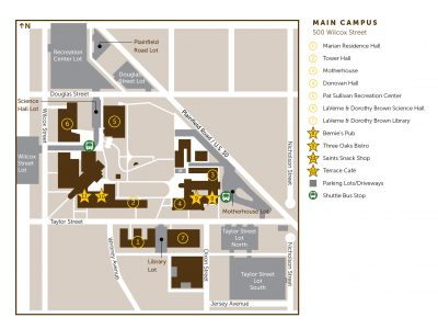 map of quest food on the usf main campus