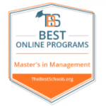 masters in management best online programs