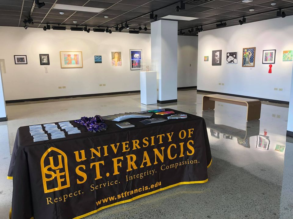 high school student art show at usf