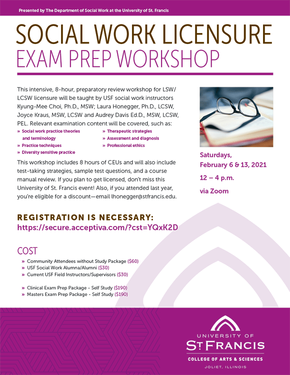 Social Work Licensure Prep Exam Workshop