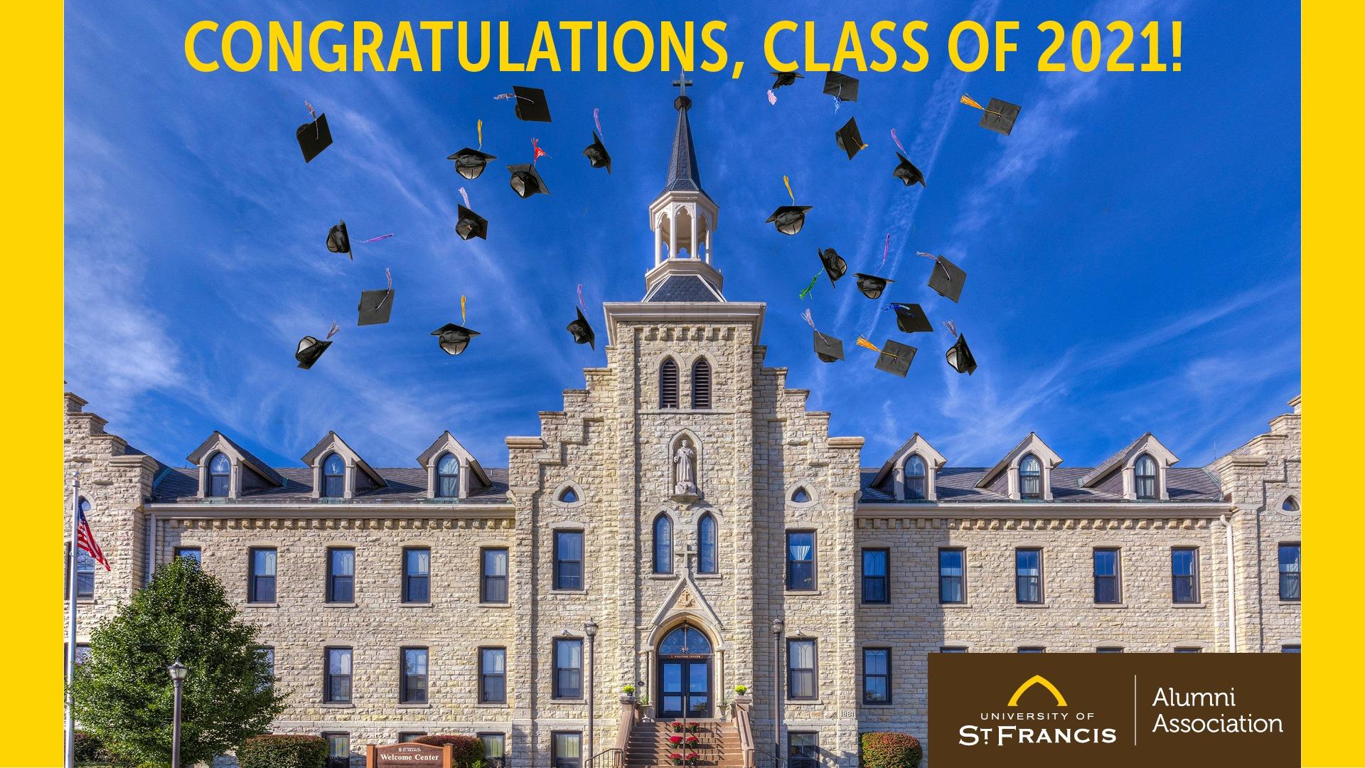 class of 2021 alumni background