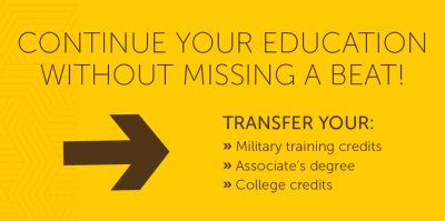transfer to usf with military training associates degree or college credits