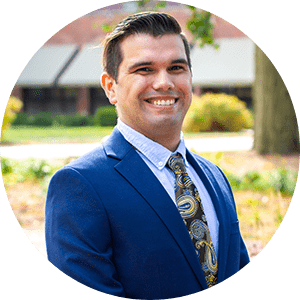 image of admissions counselor alejandro campos