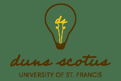 duns scotus logo with lightbulb