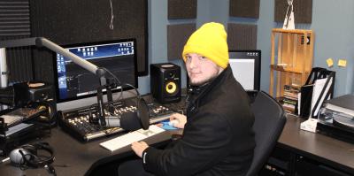 WCSF's Local Lockdown show host Jacob Bayuk