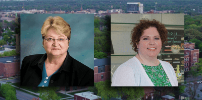 Dr. Debra Workman and Dr. Jacqueline Wittke-Thompson