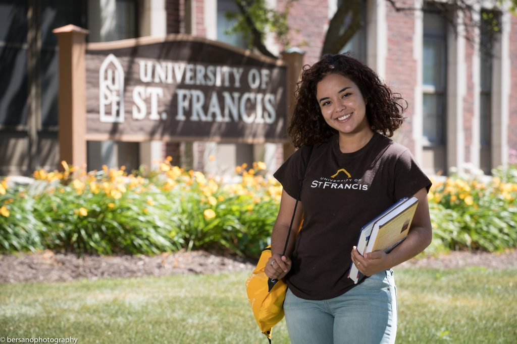 Maria at university st francis