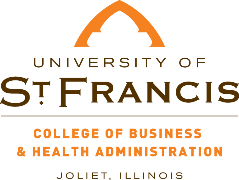 college of business and health administration logo