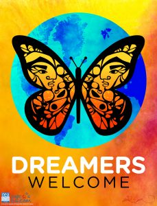dreamers welcome logo
