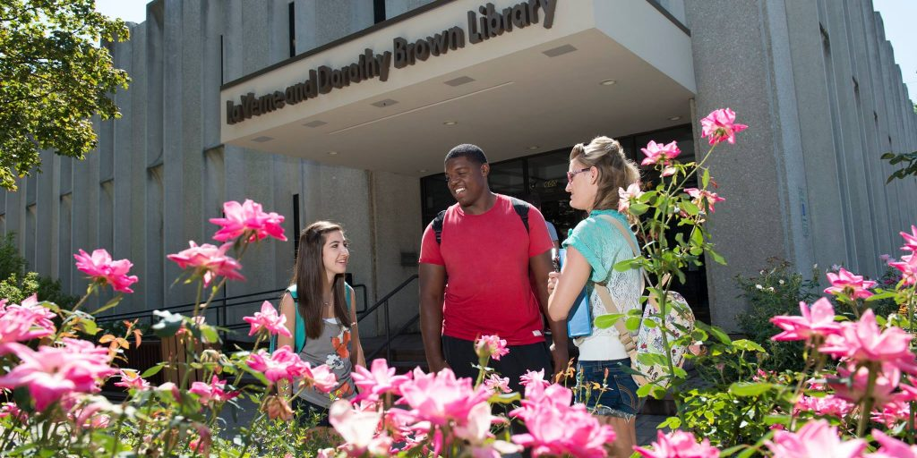 USF Library- LaVerne & Dorothy Brown Library